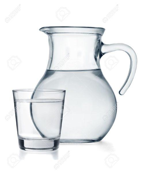 jarras-de-vidro-água