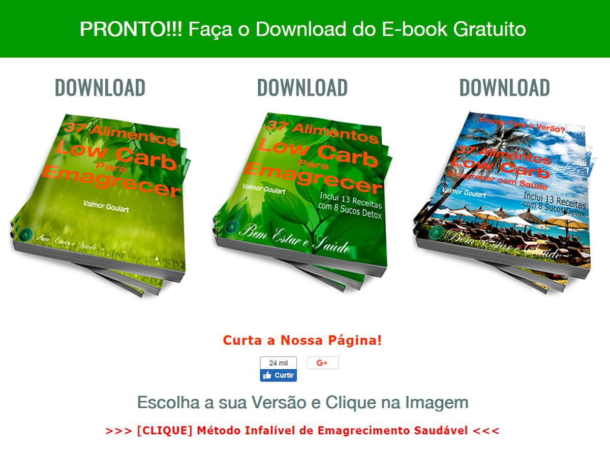Como fazer o Download de um E-book-37-alimentos-download