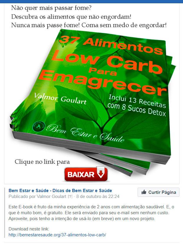Como fazer o Download de um E-book-37-alimentos-link